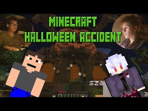MINECRAFT HALLOWEEN'S ACCIDENT MAPA S DAVIDEM!