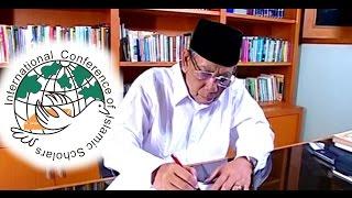 KH  Ahmad Hasyim Muzadi ICIS Part 01