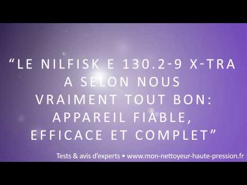 Nettoyeur Haute Pression Nilfisk E 130.2-9 P X-TRA