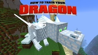 Minecraft - HOW TO TRAIN YOUR DRAGON - Ender Dragon! [44]