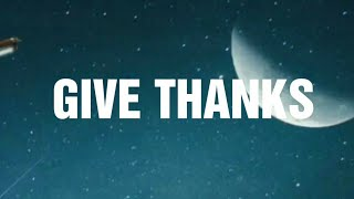 Give Thanks Official Lyric Video By Sinach