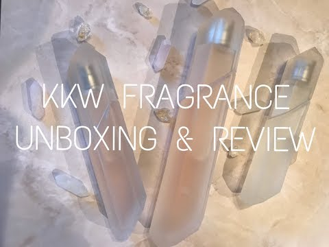 KKW Fragrance Review- Crystal Gardenia, Crystal Gardenia Citrus, Crystal Gardenia Oud