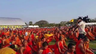 thailand news : thai news 2016 Buddhist's gathering for justice in BUDDHAMONTHON (15/02/2016)