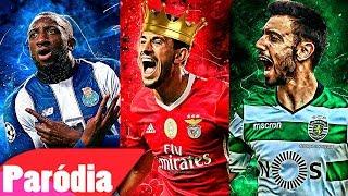 ♫ BENFICA VS FC PORTO VS SPORTING (PARÓDIA)   CAMPEÃO NACIONAL