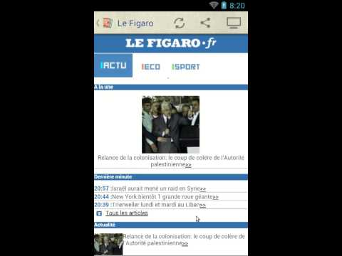 Video of Les Journaux en Français