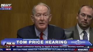 PART 1: Tom Price Confirmation Hearing, Trump's Secretary of Health and Human Services Nominee
