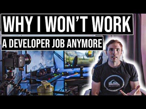 Why I won't work a developer job anymore   #grindreel #entrepreneurship