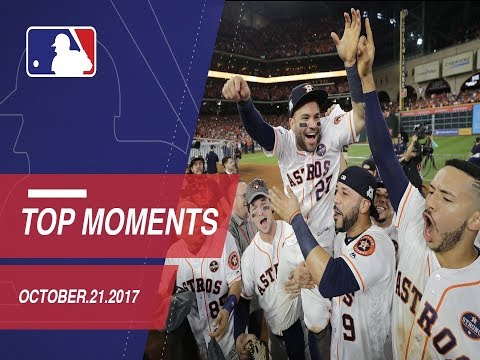 Astros clinch, plus nine moments from ALCS Gm7