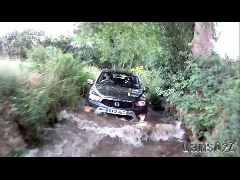 SsangYong Korando Sports 4×4 Off-Road Test