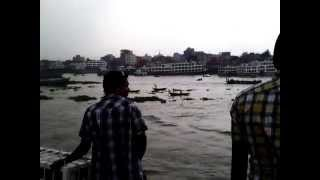 preview picture of video 'A journey from dhaka to bhola b4 Eid-Ul-Azha -- at Sadarghat'
