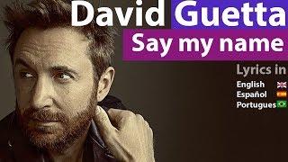 Say My Name Lyrics English