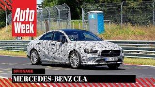 Mercedes-Benz CLA-klasse - Spionage