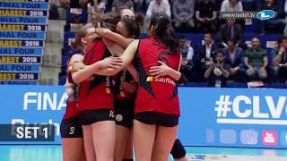 Imoco Volley Conegliano - VakifBank Istanbul | #CLVolleyW semi-final highlights
