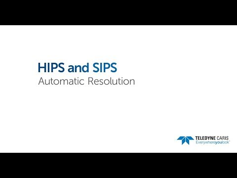 HIPS and SIPS - Automatic Resolution