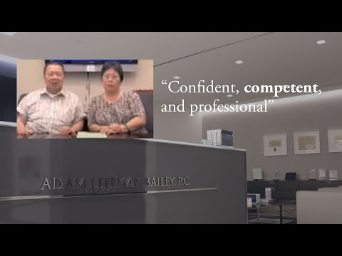 """""""Confident, competent, and professional"""" testimonial video thumbnail"""