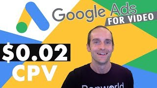 YouTube Advertising Tutorial 2019! $0.02 CPV with Google Ads for Video!
