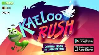 Lancement du jeu Kaeloo Rush le 26 janvier  sur l'App Store et Google Play !