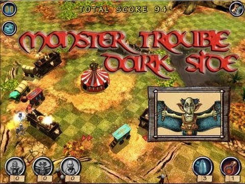 Monster Trouble HD IOS