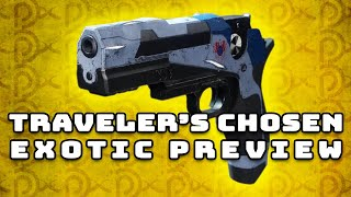 Destiny 2: Traveler's Chosen Exotic PREVIEW!