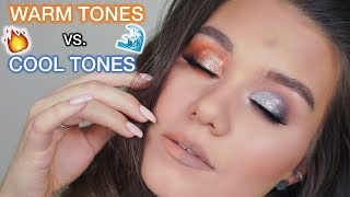 WARM TONES VS. COOL TONES TUTORIAL | WHICH ONE LOOKS BETTER?!
