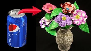 How To Make Flowers Out Of Aluminum Cans - Aluminum Can Flowers - Aluminum Can Crafts