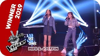 U2   One (Mimi & Josefin) | WINNER |  The Voice Kids 2019 | SAT.1