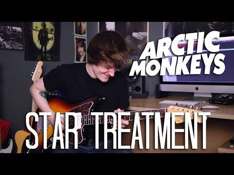 Star Treatment - Arctic Monkeys Cover (Tranquility Base Hotel + Casino Album Cover)