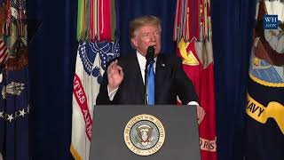 WE WILL ATTACK TO WIN: President Donald Trump Presidential Speech to Address the Nation