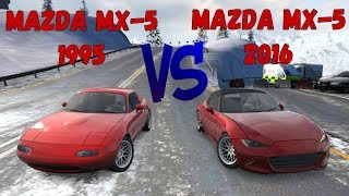 CarX Drift Racing - Mazda MX-5 (2016) VS (1995)