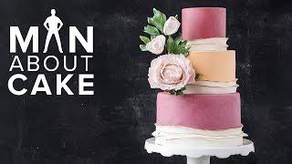Statement Sugar Flower Peony 🌺 PLUS Tastiest Fondant Ever   Man About Cake with Joshua John Russell