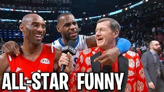 NBA All-Star FUNNY MOMENTS
