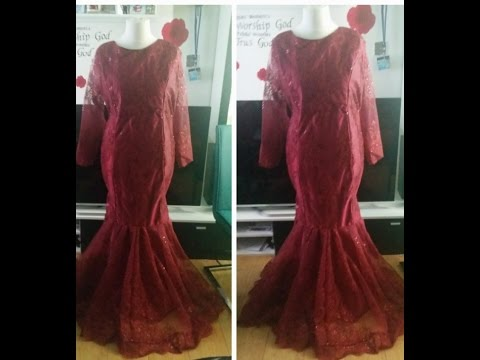 How to make a Princess-cut padded dress