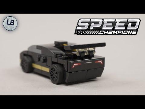 Vidéo LEGO Speed Champions 30342 : Lamborghini Huracán Super Trofeo EVO (Polybag)