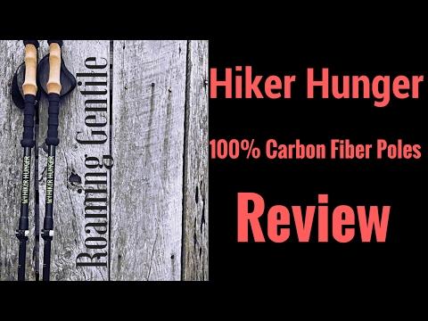 Hiker Hunger 100% Carbon Fiber Poles Review