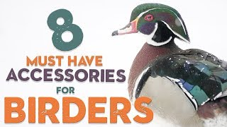 8 MUST HAVE Accessories For BIRDING