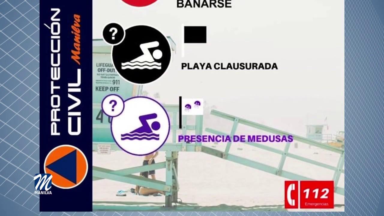 PRECAUCIONES PARA EL BAÑO  DE PROTECCIÓN CIVIL