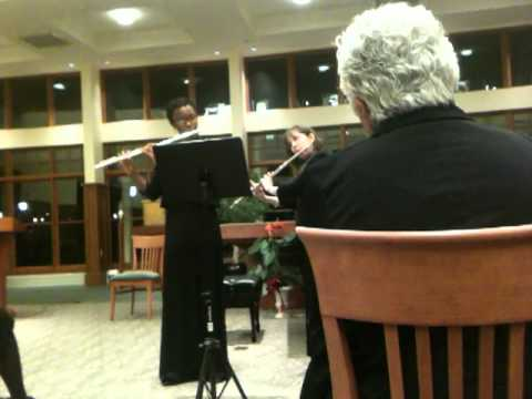 My performance of a duet with a previous private flute