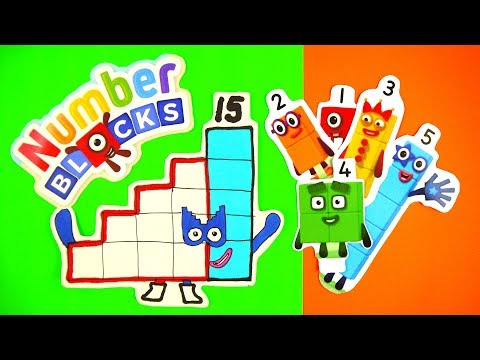 Secret Agents on Ten's place! Learn to count! 4 NEW NUMBERBLOCKS EPISODES