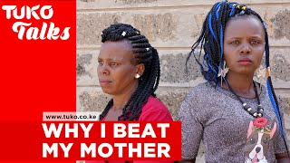 """Lucy Nyawira is remembered by many as the lady caught in camera in 2015 beating her own mother. She made sure her father's orders of imprisoning her own mother were well executed and at times denied her food. So why did she do all this?  She opens up to Lynn Ngugi on this exclusive episode of Tuko Talks  Subscribe to Tuko TV on Youtube: https://goo.gl/y8QBbm  __ Top-5 