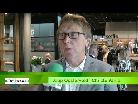 Lintje voor Jaap Oosterveld (ChristenUnie) na 14 jaar gemeenteraad
