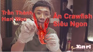 Xìn Ri Couple -Trấn Thành Hari ăn Crawfish Siêu Ngon