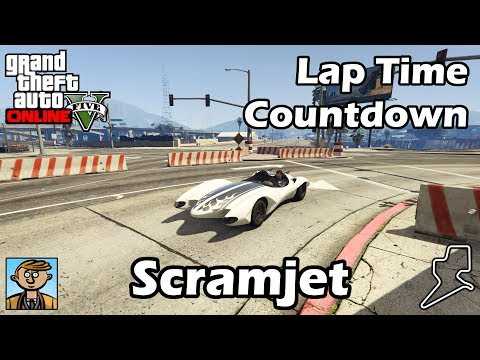Fastest Supercars (Scramjet) - GTA 5 Best Fully Upgraded Cars Lap Time Countdown