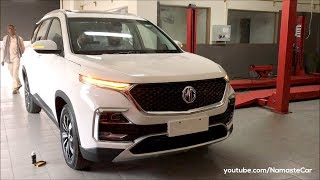 MG Hector Hybrid Sharp Internet Inside 2019 | Real-life review
