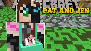 Minecraft: PAT AND JEN VEHICLE (CAR AND UFO TRICKS!) Mod Showcase