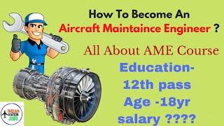 How To Become 👨🏻🔧 ✈️ Aircraft Maintenance Engineer 🛠️ | IAJ