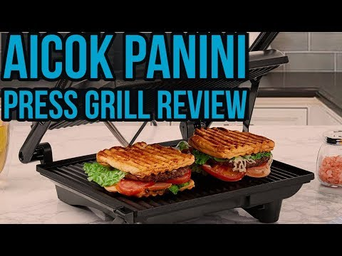 ✅ Aicok Panini Press Grill Review