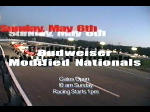 Speedbowl TV Ad - 2001 Budweiser Modified Nationals + NASCAR Modifieds
