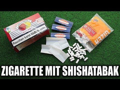 Das Rauchen die schädliche Gewohnheit