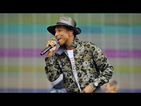 Pharrell Williams - Happy (BBC Radio 1's Big Weekend 2014)