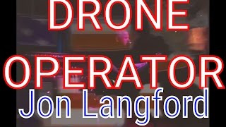 Jon Langford - Drone Operator (USA Today version at @MakeoutRoomSF )